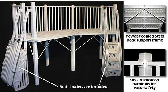5x13 Swimming Pool Deck System
