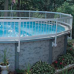 Above Ground Pool Resin Fence Kit
