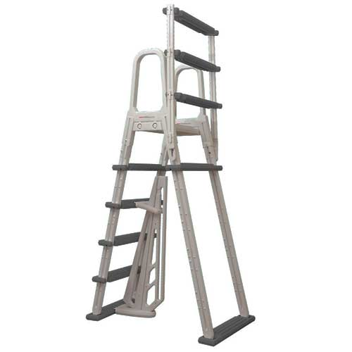Heavy Duty A Frame Flip Up Ladder For Above Ground Pools