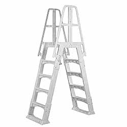 Taupe A-Frame Ladder For Above Ground Pools