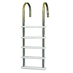 Standard and Premium Stainless Above Ground Pool Ladders
