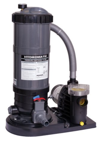 Hydro Above Ground Pool Cartridge Filter System