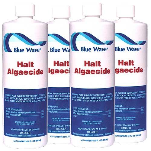 Blue Wave Halt 50 Algaecide For Swimming Pools