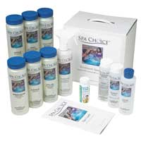 Spa Choice Standard Chlorine Spa Startup Chemical Kit