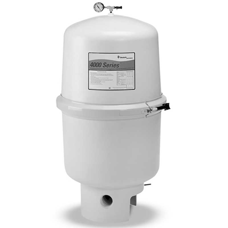 Pentair 4000 series d e inground pool filter for Inground pool pump and filter systems
