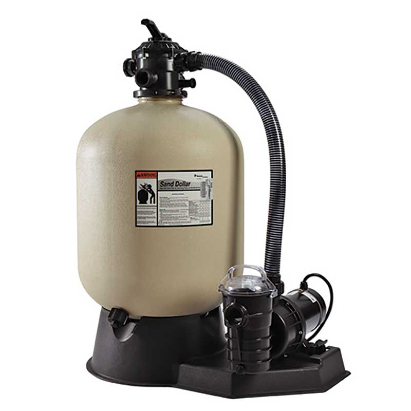 Pentair sand dollar sand pool filter for Inground pool pump and filter systems
