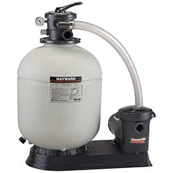 Hayward Polymeric Sand Filter with Matrix Pump