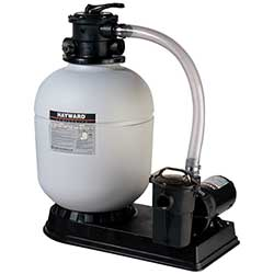 Hayward Polymeric Sand Filter with Power Flo Pump