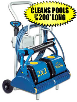 Dolphin 2X2 RC In Ground Pool Automatic Cleaner