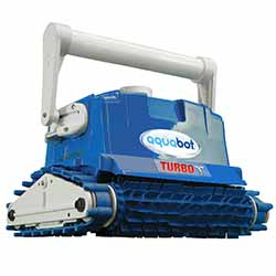 Aquabot Turbo T Remote Control Pool Cleaner With Caddy