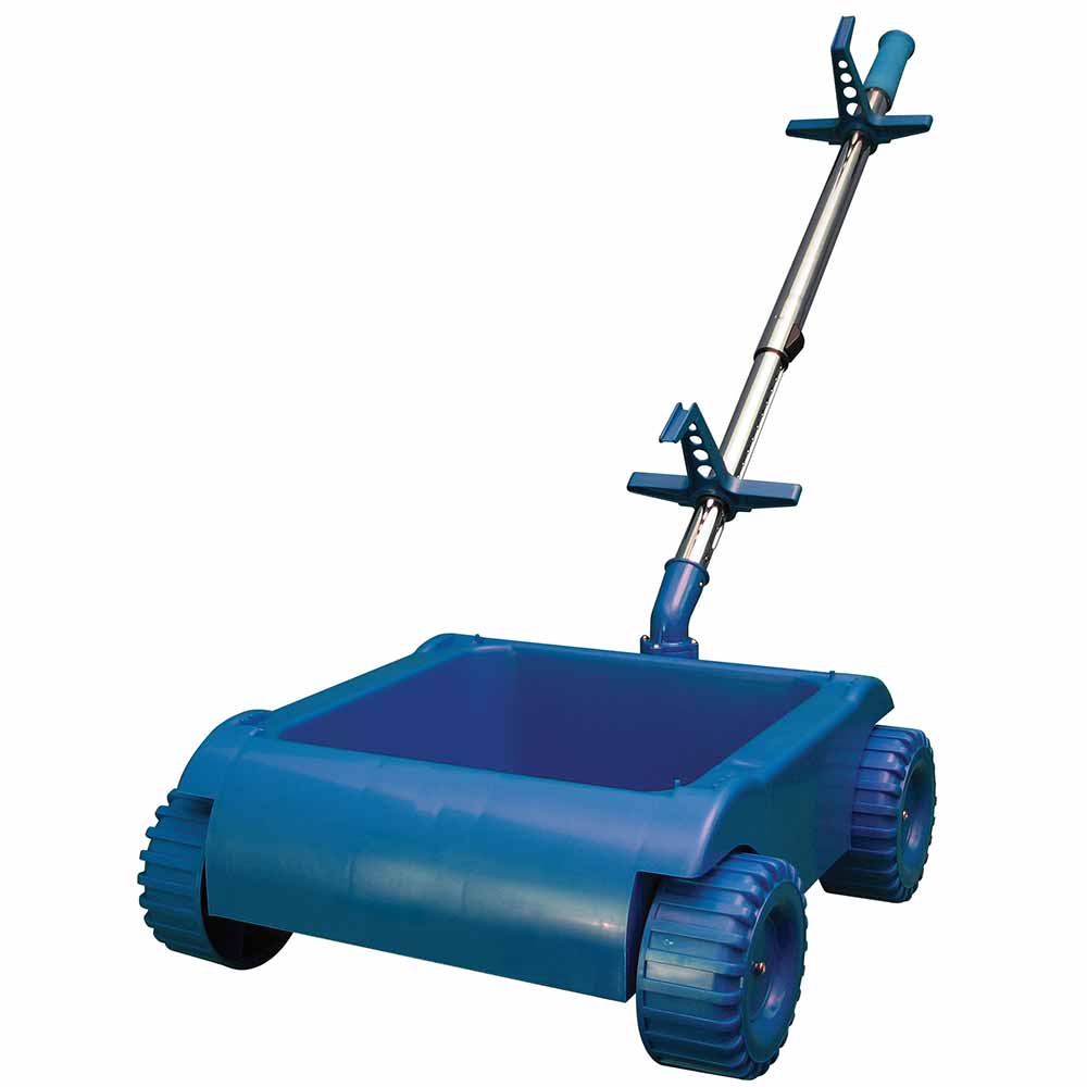 Aquabot Turbo T4 Remote Control Pool Cleaner With Caddy