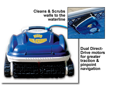 Nitro Wall Scrubber In Ground Pool Automatic Cleaner