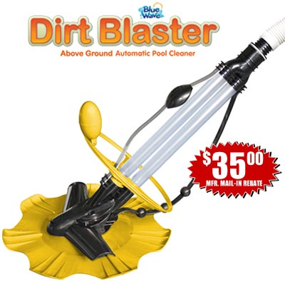 DirtBlaster In Ground Pool Automatic Cleaner