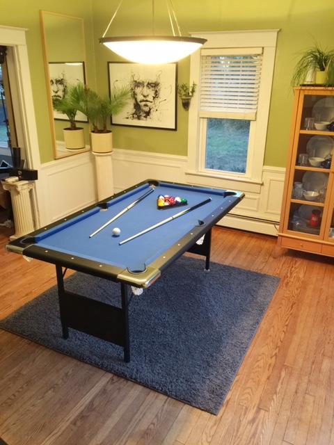 Fairmont Ft Portable Pool Table - Hathaway fairmont pool table