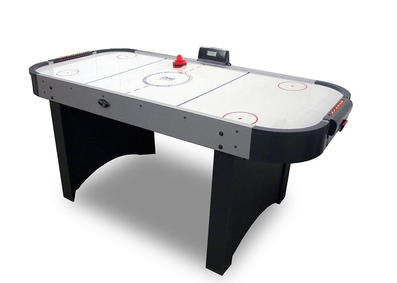 6 Ft Extreme Goal Flex Air Hockey Game Table