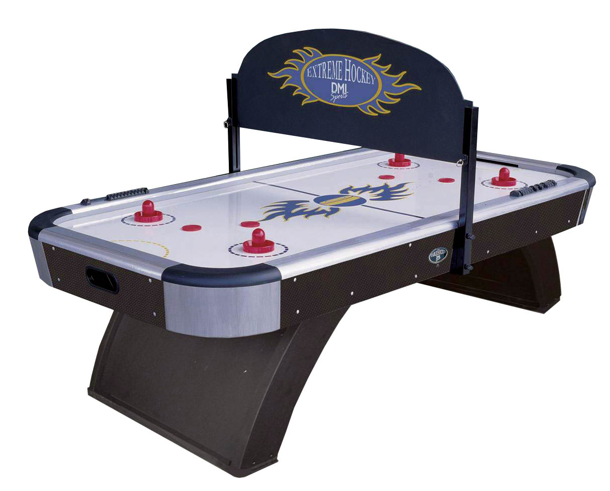 7 Ft Air Hockey Game Table With Visual Blind By Dmi