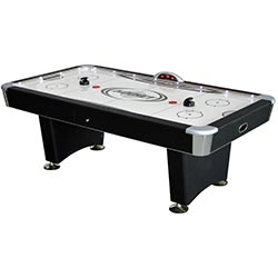 Stratosphere 7.5 ft. Air Hockey Table with Docking Station