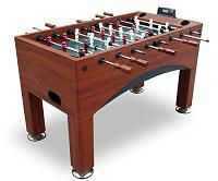 57 inch Foosball Soccer Game Table with Goal-Flex