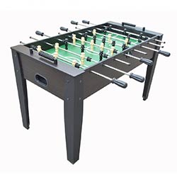 Hurricane 54 inch Foosball Soccer Table in Walnut