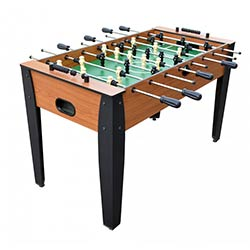 Hurricane 54 inch Foosball Table in Cherry