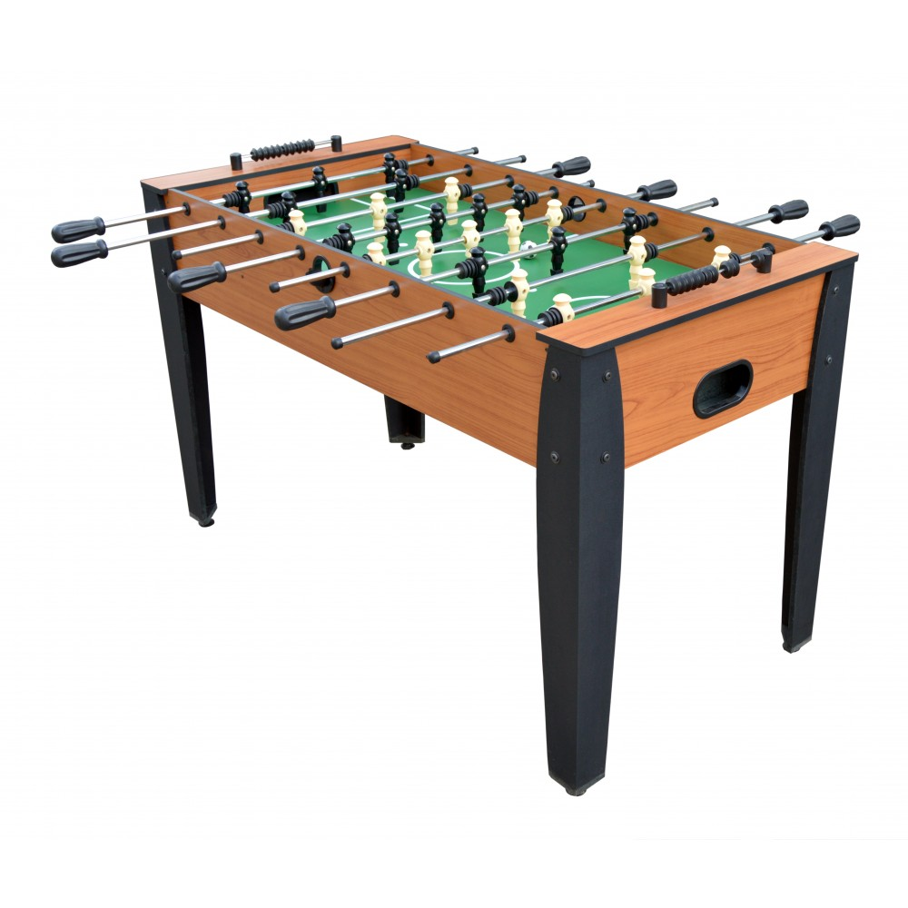 hurricane 54 inch foosball table in cherry. Black Bedroom Furniture Sets. Home Design Ideas