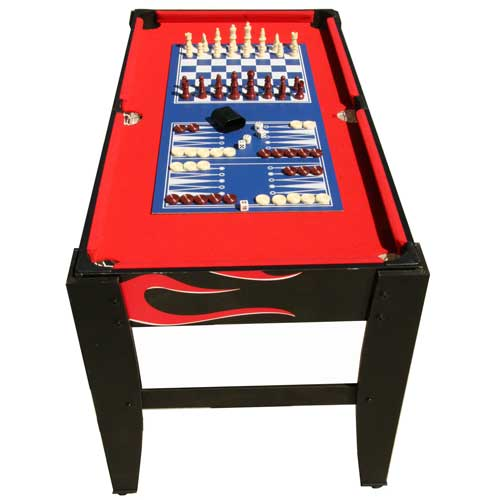 Discount Shuffleboard Tables Inferno 20-in-1 Multi Game Table
