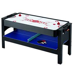Triple-Threat 3-in-1 Flip Game Table