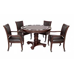 Bridgeport 2-in-1 Poker Game Table Set