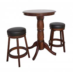 Oxford 3 Piece Hardwood Pub Table Set