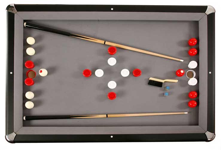 Carmelli Mdf Bumper Pool Table By Harvil