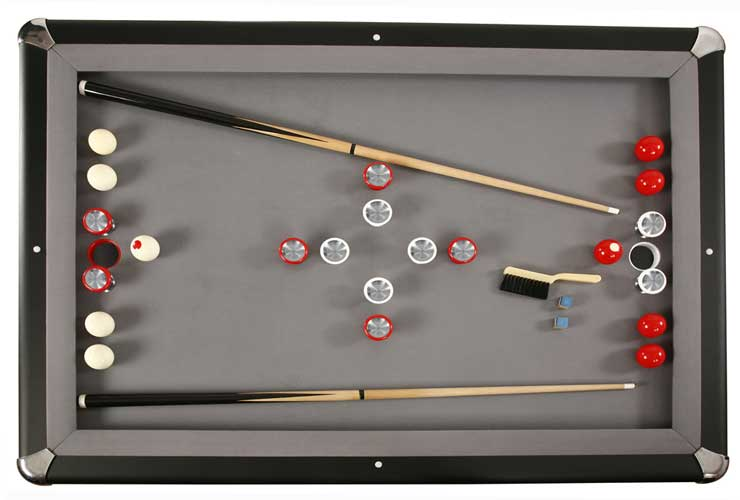 Carmelli Slate Bumper Pool Table By Harvil - Carmelli pool table