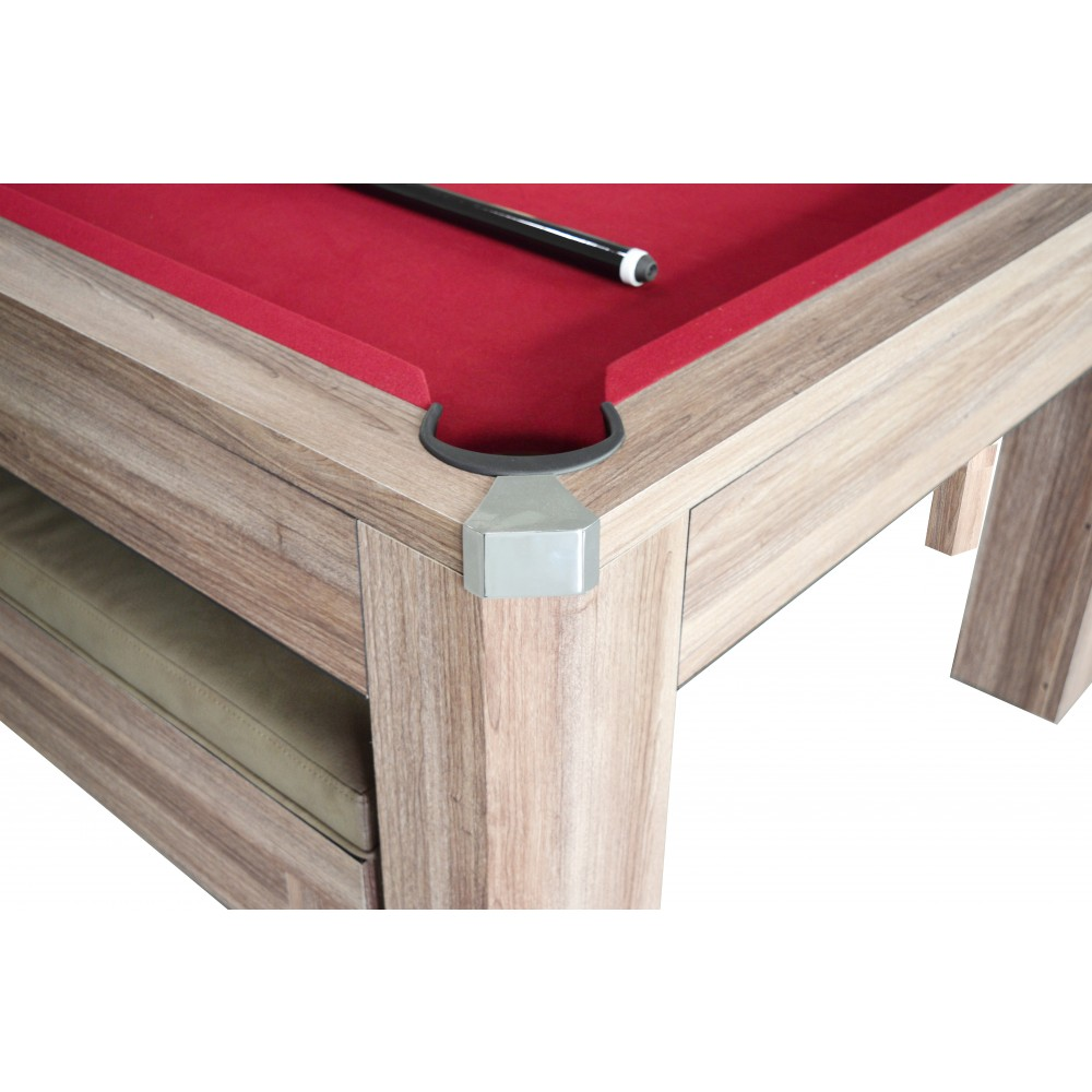 Newport 7 Ft Pool Table Set With Benches