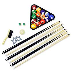 Premium Billiard Accessory Kit