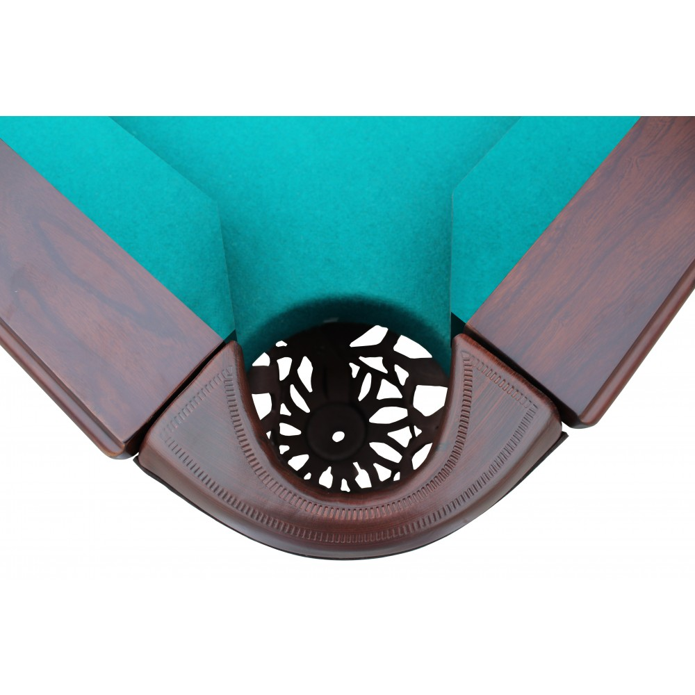 Westport 8 Ft. Antique Walnut Slate Pool Table