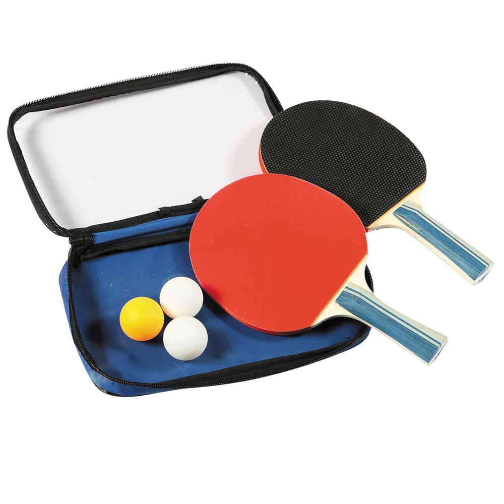 Control Spin Table Tennis Racket And Ball Set