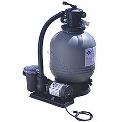 Blue Star 19 inch 1.5 HP 1 Speed Sand Filter