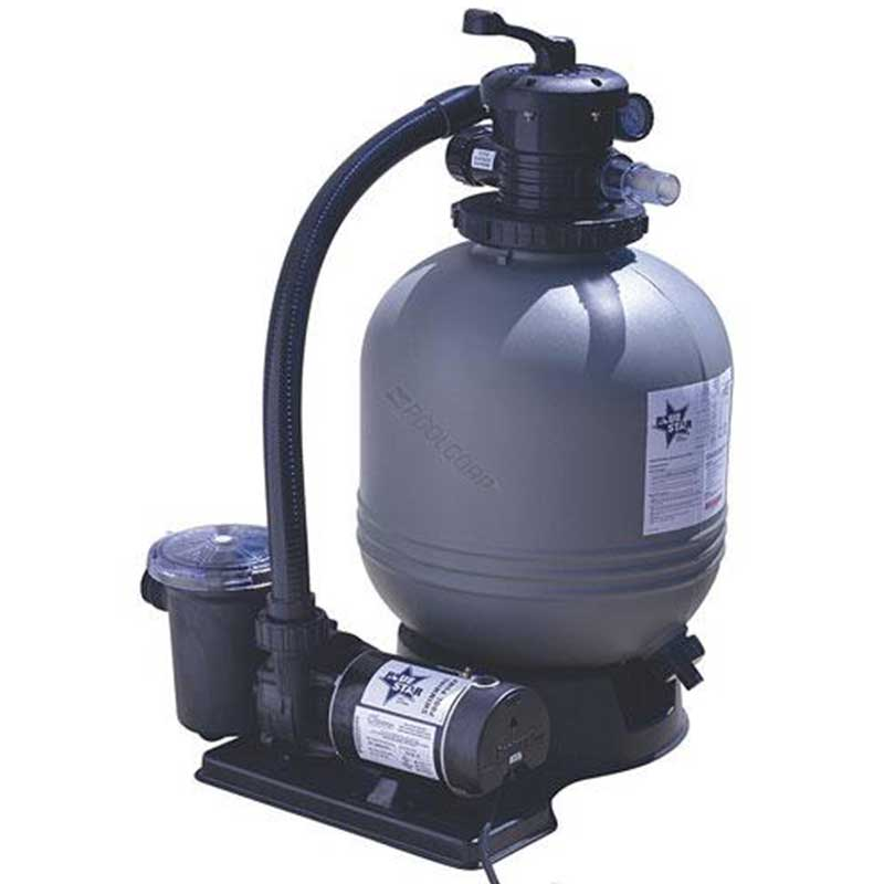 Blue star 19 inch 1 hp 2 speed sand pool filter - Filter fur pool ...