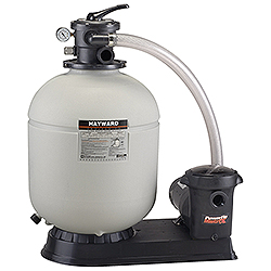 Hayward Polymeric Sand Filter System  for Above Ground Pools