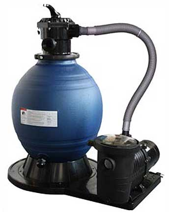 Sandman deluxe above ground pool sand filter system - Sandfilterpumpe fur pool ...