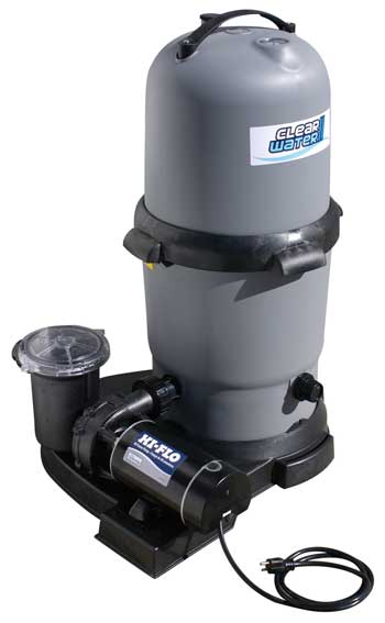 Waterway Clearwater Above Ground Pool D E Pump And Filter