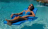 Unsinkable Ensolite Swimming Pool Chaise Lounger