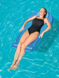Blue Sport Swimming Pool Float