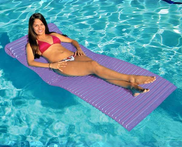 Take Anywhere Foam Floating Lounger