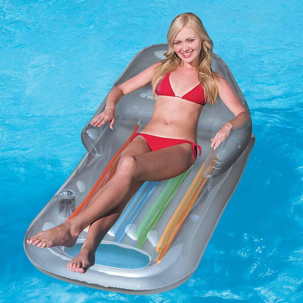 Designer Fashion Tanning Lounge Pool Float