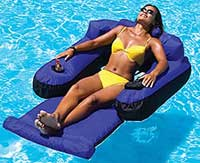 Ultimate Floating Swimming Pool Lounger