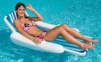 Sunchaser Sling Floating Swimming Pool Lounger