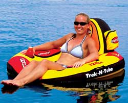 Premium Trek-N-Tube Nylon Covered Float Tube