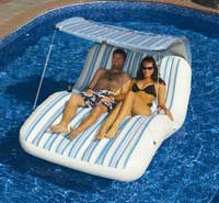 Luxury Cabana Double Swimming Pool Lounger
