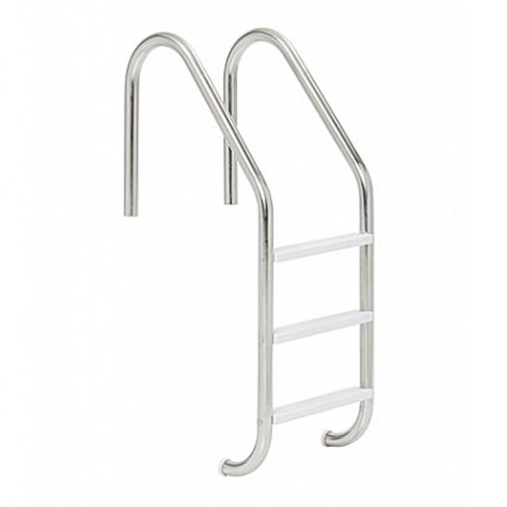 Fantastic In Ground Pool 3 Step Stainless Steel Ladder Creativecarmelina Interior Chair Design Creativecarmelinacom