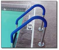 In Ground Pool Ladder and Handrail Grips